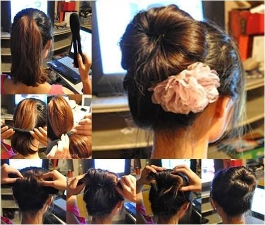 教你扎100种头发,特漂亮 假发论坛 发友网高清图片